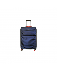 Troler Ultralight 68 cm, 2 roti, albastru, Carrefour