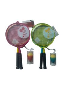 Set badminton junior + husa, Carrefour