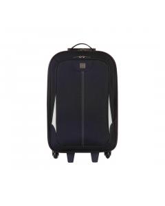 Troler Destination 57 cm, 2 roti, negru, Carrefour