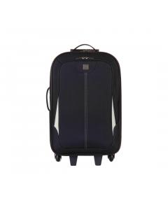 Troler Destination 67 cm, 2 roti, negru, Carrefour