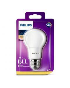 Bec Philips Led A60 60W E27 MAT 2700K