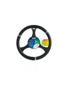 Husa volan Lampa Cromox Premium, 35/37 cm, Negru
