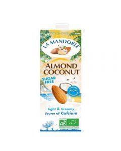 Lapte de migdale cu cocos fara zahar 1L