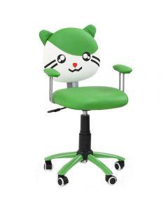 Scaun birou copii verde HM Tom