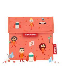 Snack n Go Kids Space Gentuta reutilizabila pentru gustari