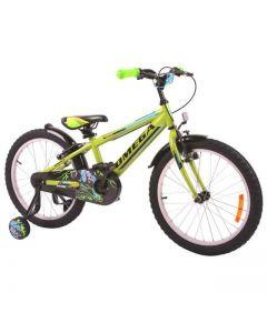 "Bicicleta copii Omega Master verde 16"""