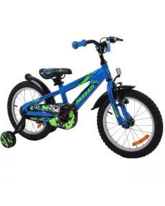 """Bicicleta copii Passati Gerald albastru 16"""""""