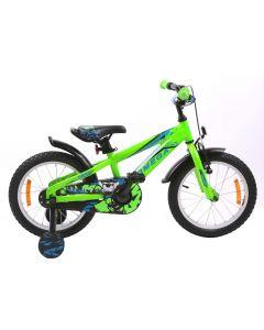 "Bicicleta copii Omega Gerald 16"" verde 2018"