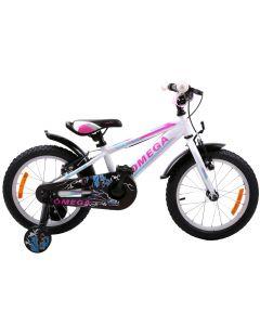 "Bicicleta copii Omega Master 16"" alb 2018"