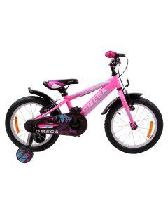 "Bicicleta copii Omega Master 16"" roz 2018"