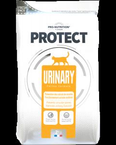 Hrana dietetica pentru pisici cu nevoi nutritionale speciale sau cu afectiuni ale tractului urinar, Protect Urinary, 2 kg.
