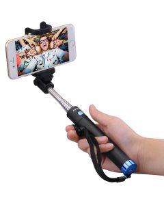 Selfiestick bluetooth, Mpow iSnap X, Blue