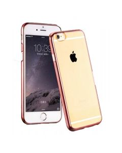 Carcasa Hoco, Black Series Glint Plating, pentru Apple Iphone 6/6S, Rose Gold