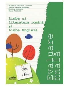 Evaluare finala clasa a VI-a. Limba si literatura romana si limba engleza Cirstea