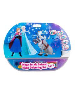 Mega set de colorat 5in1 Frozen