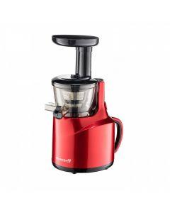 Storcator fructe, prin presare la rece, Rosu, 150 w, Hausberg + Mixer electric, spuma lapte, Cadou