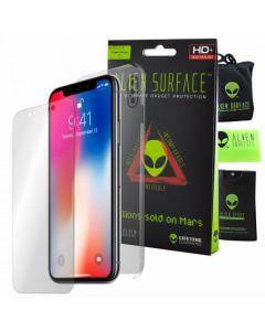 Folie de protectie Alien Surface HD pentru iPhone X