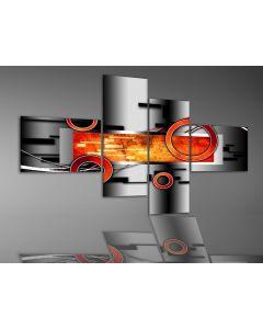 Tablou decor abstract in culori model BM4518