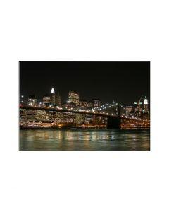 Tablou canvas cu repere celebre - Podul Brooklyn din New York 80x60cm