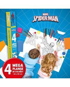 Marvel: Spider-Man - Lumea magica a culorilor (4 Megaplanse)