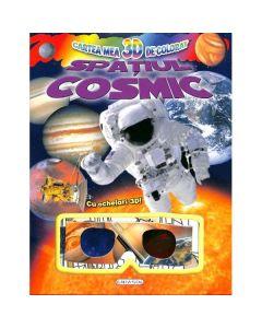 Cartea mea 3D de colorat: Spatiul cosmic