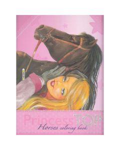 Princess Top - Horses Coloring Book