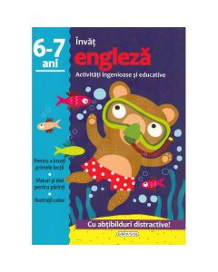 Activitati ingenioase si educative: Invat engleza 6-7 ani