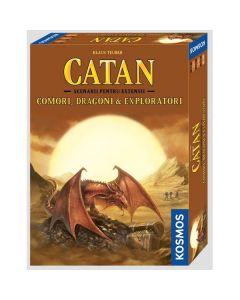 Catan - Scenarii pentru extensii: Comori, dragoni si exploratori