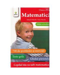 Matematica - Clasa a 4-a. Ed. actualizata - Eduard Dancila, Ioan Dancila