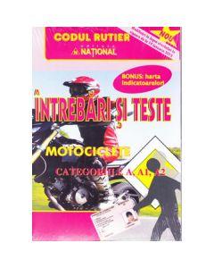 Intrebari si teste categoriile A, A1, A2 Motociclete