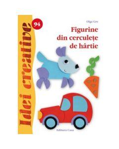 Idei creative 94 - Figurine din cerculete de hartie - Olga Gre