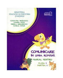 Comunicare in limba romana cls I partea I + Cd - Tudora Pitila, Cleopatra Mihailescu