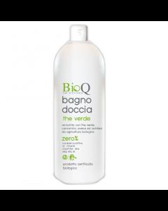 Gel de dus biologic BioQ cu extras vegetal bio de Ceai verde 500ml