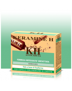 Tratament energizant actiune intensa impotriva caderii parului Kapilarine Keramine H 12 fiole x 6ml