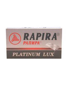 Rezerve lame de ras Rapira Platinum Lux 5 bucati