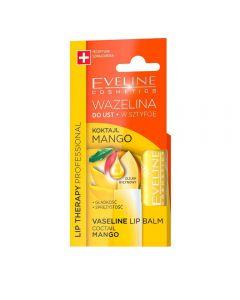 Balsam de buze Eveline Lip Therapy Vaseline Coctail Mango