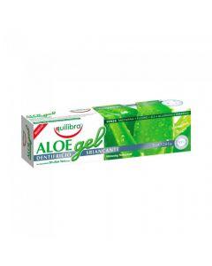 Pasta de dinti cu Aloe pentru albire Equilibra 75 ml