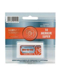 Rezerve lame de barbierit Merkur - set 10 buc.