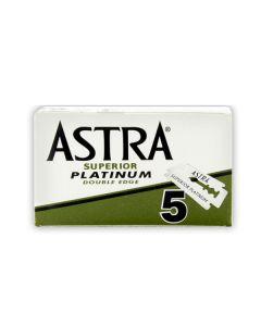 Rezerve lame de barbierit Astra Platinum - set 5 buc.
