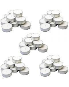 Set 50 lumanari pastila, Ral, aroma florala, alb