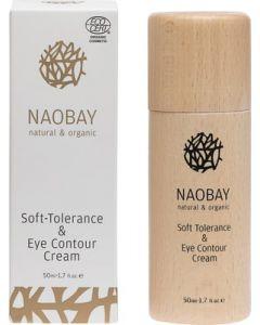 Crema BIO pentru piele sensibila si conturul ochilor  Naobay  50 ml