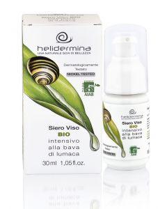 Serum facial regenerant cu extract de melc BIO  Helidermina. Testat dermatologic  La Dispensa  30 ml