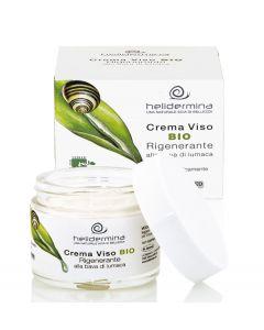 Crema de fata revitalizanta cu extract de melc BIO  Helidermina  La Dispensa  50 ml