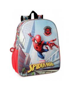 Ghiozdan scoala 3D 33 cm Spiderman Grafiti