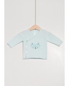 Jachetă tricotată petrecută nou născut 0/6 luni