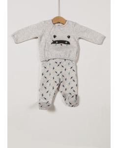 Pantaloni și bluză petrecută nou născut 0/6 luni