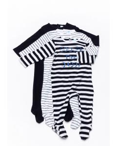Set 3 salopete noapte bebe 3/23 luni