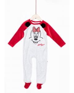 Salopetă noapte bebe Minnie 3/36 luni