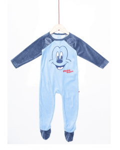 Salopetă noapte bebe  Mickey 3/36 luni