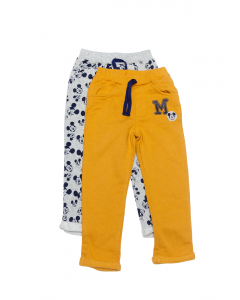 Set 2 pantaloni bebe 3/36 luni Mickey Mouse
